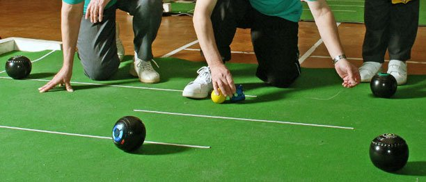 People Bowling - Small Mat Bowls in Upper Beeding & Bramber Village Hall